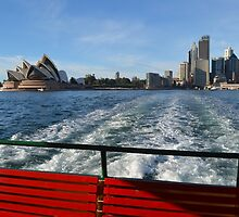 Spring Morning, Sydney Harbour by Gary Kelly