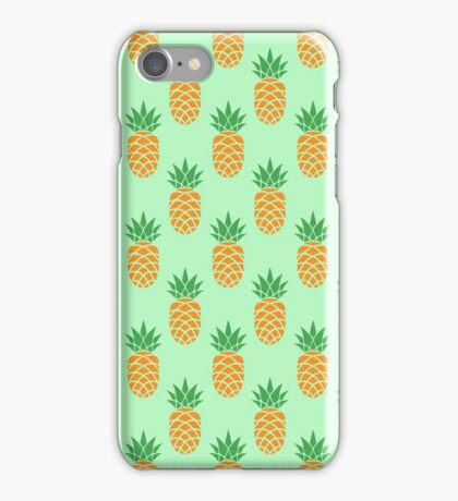 Unique Pineapple Pattern iPhone Case/Skin