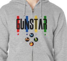 Gunstar T-Shirt by Nube Tees Zipped Hoodie