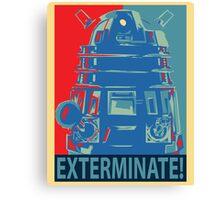 Vote 1# Dalek Canvas Print