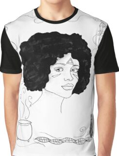 Effra- The Witches of Aira Falls Illustration Graphic T-Shirt
