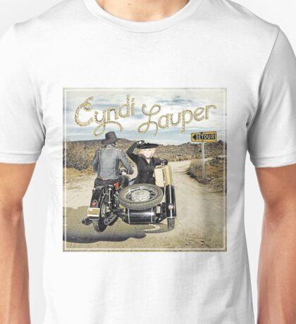 cyndy lauper detour 2016 Unisex T-Shirt