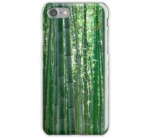 Bamboo forest in Kyoto, Japan iPhone Case/Skin