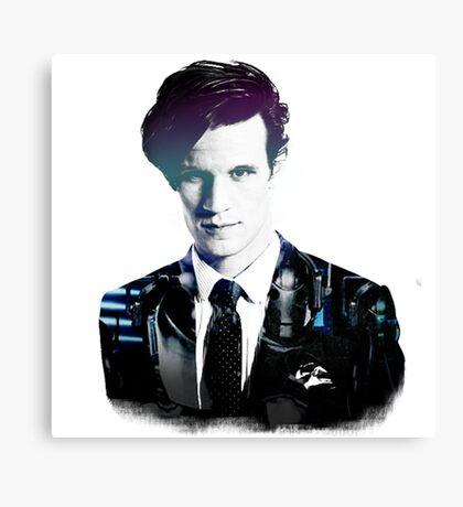 Matt Smith - Doctor Who Canvas Print