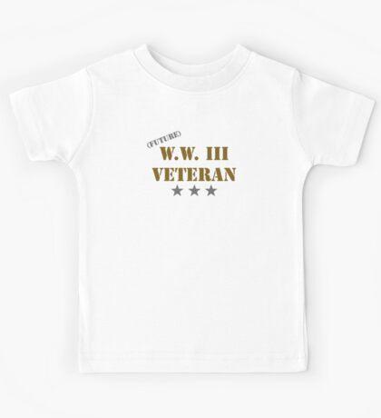 (Future) W.W. III Veteran Kids Tee