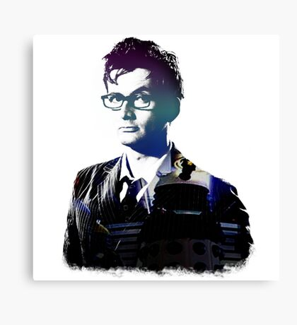David Tennant - Doctor Who Canvas Print