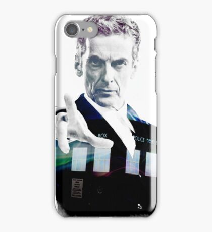 Peter Capaldi - Doctor Who iPhone Case/Skin