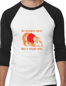 No Bothers Here, Pooh, Winnie, Honey, Bear, No Fox Given, Hunty, Hunny, Lazy, IDGAF, Eeyore, Piglet, Tigger, Christopher Robbins, Parody Men's Baseball ¾ T-Shirt