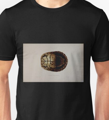 Tortoises terrapins and turtles drawn from life by James de Carle Sowerby and Edward Lear 044 Unisex T-Shirt