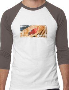 Chevy Rat Rod Badge Men's Baseball ¾ T-Shirt