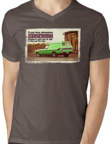 Holden Sandman Panel Van - Nostalgic © Mens V-Neck T-Shirt
