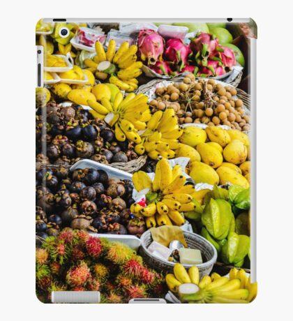 Floating Market  In Thailand iPad Case/Skin