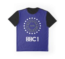 BBC1 Schools and Colleges - 1980s Graphic T-Shirt