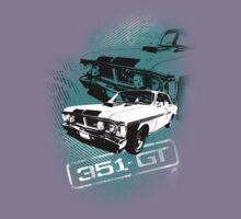 Ford Falcon XY GTHO Phase III (Grunge) © Kids Tee