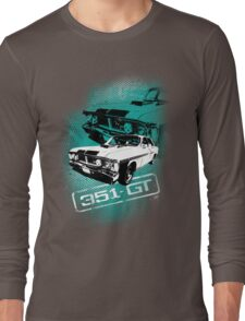 Ford Falcon XY GTHO Phase III (Grunge) © Long Sleeve T-Shirt