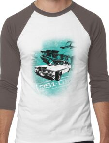 Ford Falcon XY GTHO Phase III (Grunge) © Men's Baseball ¾ T-Shirt