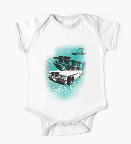 Ford Falcon XY GTHO Phase III (Grunge) © One Piece - Short Sleeve