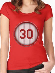 30 - Junior Women's Fitted Scoop T-Shirt