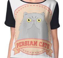 Persian Cats Chiffon Top