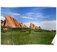 Roxborough State Park in Colorado Poster