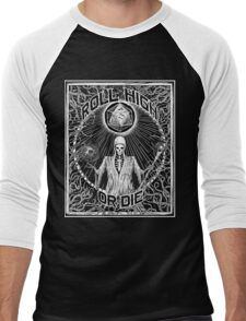Roll High Or Die -  D20 - Dungeon Master D&D  Men's Baseball ¾ T-Shirt