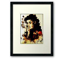 Fumare Framed Print
