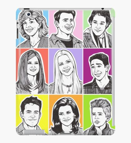 Friends Tv Show iPad Case/Skin