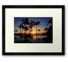 Sunrise at Cabo San Lucas Framed Print