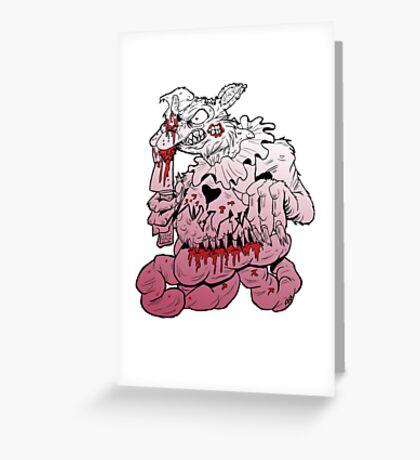Snicker Snack Greeting Card
