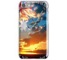 LEST WE FORGET... iPhone Case/Skin