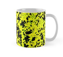 Yellow & Black Animal Spots Pattern Mug