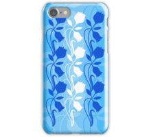 Layered Floral Silhouette Print (3 of 8 please see description) iPhone Case/Skin
