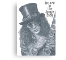 Slash Guns N' Roses Canvas Print