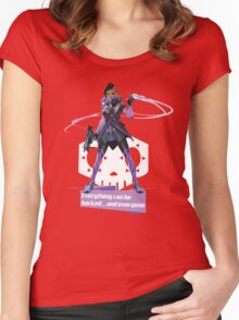 Sombra Women's Fitted Scoop T-Shirt
