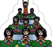 Child Labour Christmas Sticker