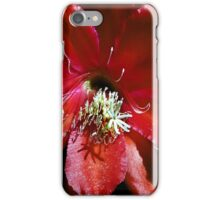 Lady in Red.  iPhone Case/Skin