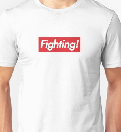 Fighting- Red Design Unisex T-Shirt