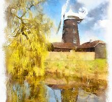 Wray Common Windmill by AndyHuntley