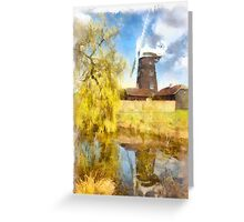 Wray Common Windmill Greeting Card