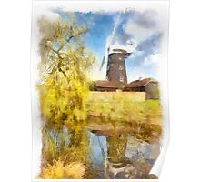 Wray Common Windmill Poster