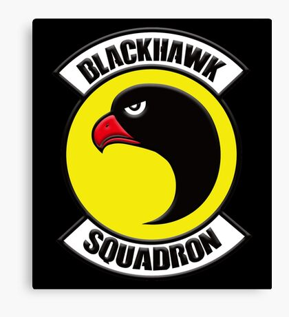 Blackhawk Squadron Canvas Print
