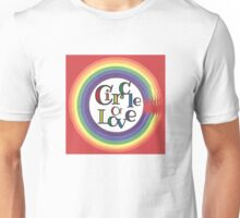 Circle of love Unisex T-Shirt