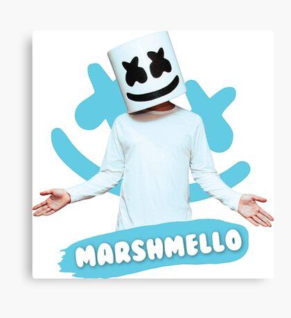 DJ Marshmello Canvas Print