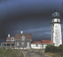 Highland Light, Cape Cod, MA by BlackDogSFX