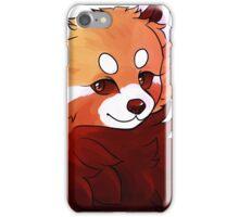 red panda pal iPhone Case/Skin