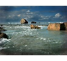 The Oceans Playthings..... Photographic Print