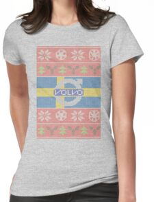 Volvo Ugly Sweater Womens Fitted T-Shirt