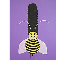 Beehive Betty Photographic Print