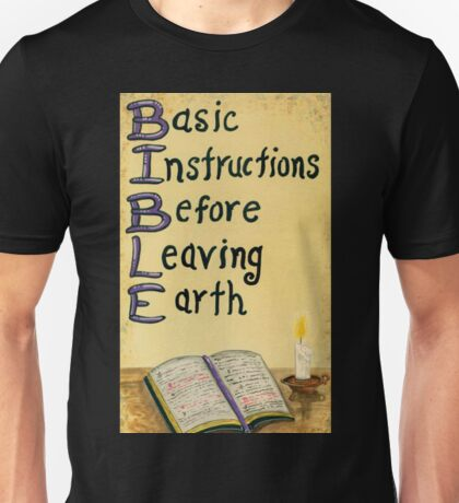 Meaning Of The Bible Unisex T-Shirt