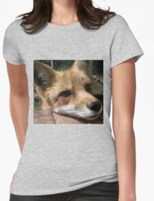 Rusty the Red Fox Womens Fitted T-Shirt